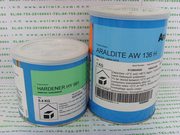 Viscous liquid adhesive,White Glue,high strength and toughness,bonding metals,Araldite AW136H/HY991,Araldite HY991